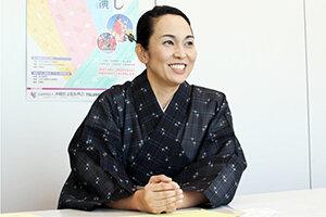 【芸能インタビュー】沖縄芝居研究会 代表 伊良波さゆきさん 掲載しました